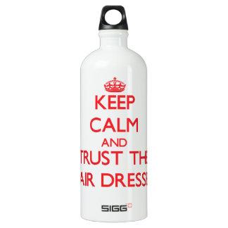 Keep Calm and Trust the Hair Dresser SIGG Traveler 1.0L Water Bottle