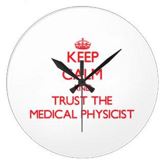 Keep Calm and Trust the Medical Physicist Clocks
