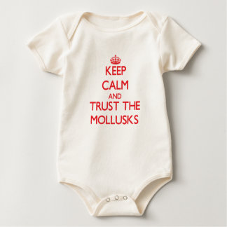 Keep calm and Trust the Mollusks Baby Bodysuit