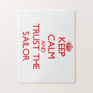 Keep Calm and Trust the Sailor Puzzle