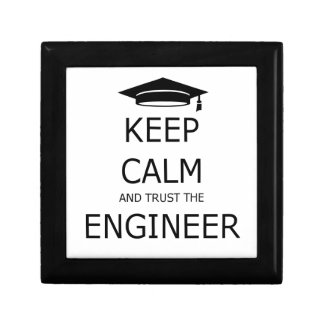 Keep calm and trust to engineer gift box