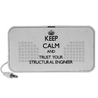 Keep Calm and Trust Your Structural Engineer Mini Speaker