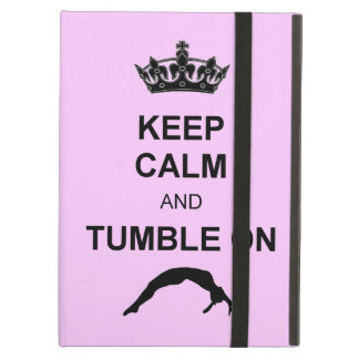 Keep calm and tumble gymnast case for iPad air