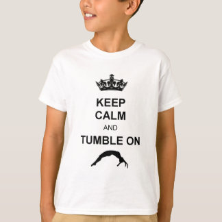Keep calm and tumble gymnast T-Shirt