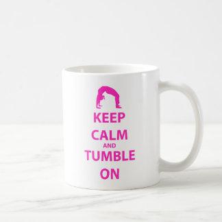 Keep Calm and Tumble On Classic White Coffee Mug
