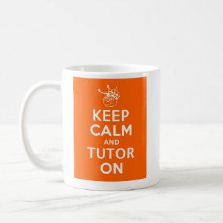 Keep Calm and Tutor on by WyzAnt Coffee Mug