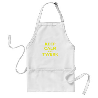 Keep Calm and Twerk Standard Apron