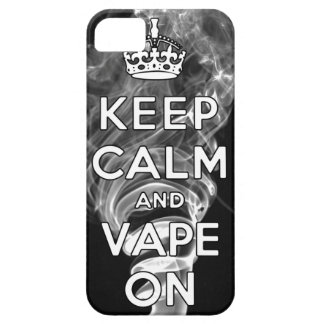 Keep Calm And Vape On iPhone 5 Case