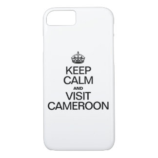 KEEP CALM AND VISIT CAMEROON iPhone 7 CASE
