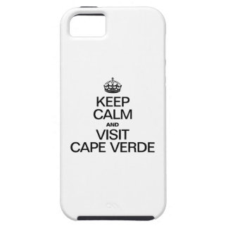 KEEP CALM AND VISIT CAPE VERDE CASE FOR THE iPhone 5