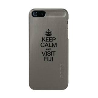 KEEP CALM AND VISIT FIJI INCIPIO FEATHER® SHINE iPhone 5 CASE