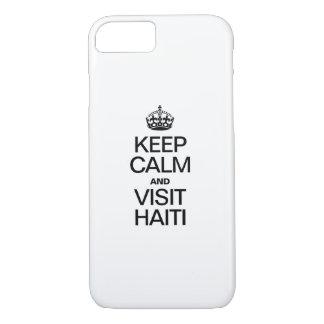 KEEP CALM AND VISIT HAITI iPhone 7 CASE
