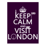 Keep Calm and Visit London (any colour)