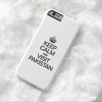 KEEP CALM AND VISIT PAKISTAN BARELY THERE iPhone 6 CASE