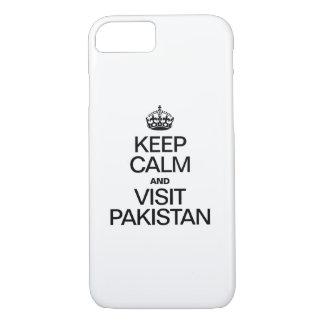KEEP CALM AND VISIT PAKISTAN iPhone 7 CASE