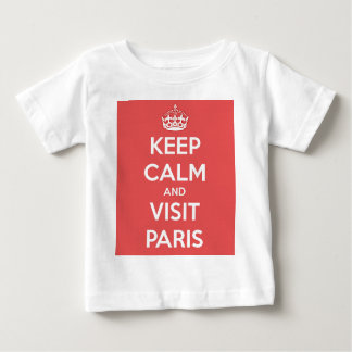 Keep Calm and Visit Paris Baby T-Shirt