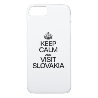 KEEP CALM AND VISIT SLOVAKIA iPhone 7 CASE