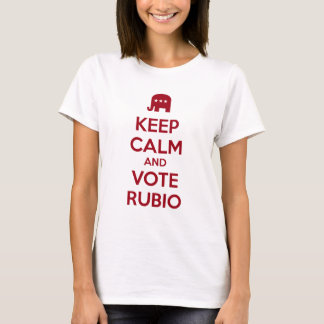 Keep Calm and Vote Marco Rubio T-Shirt