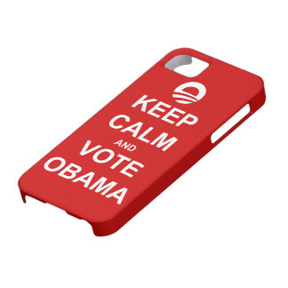 Keep Calm and Vote Obama 2012 iPhone 5 Case