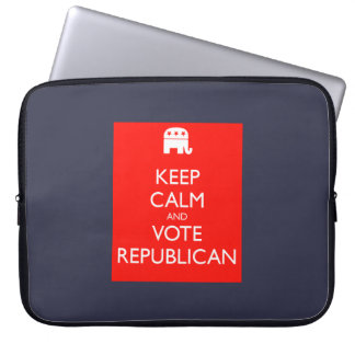 "'Keep Calm and Vote Republican' 15"" Laptop Sleeve"