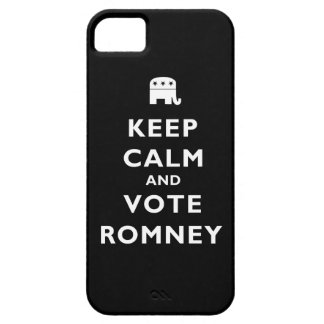 Keep Calm And Vote Romney iPhone 5 Cover