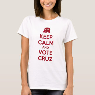 Keep Calm and Vote Ted Cruz T-Shirt