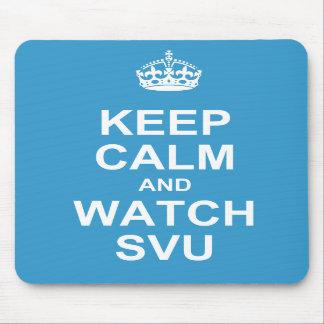 Keep calm and watch SVU mousepad