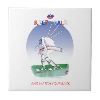 keep calm and watch your back, tony fernandes tile