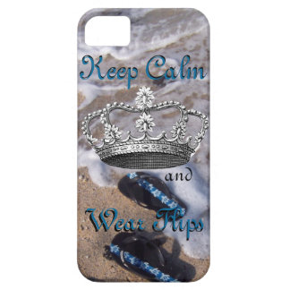 Keep Calm and Wear Flip Flop Sandals iPhone 5 Case