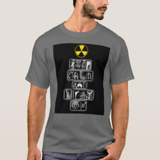 """Keep Calm and Xray On"" Men's T-Shirt"