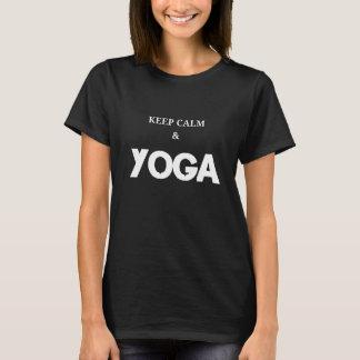 Keep Calm and Yoga - Print T-Shirt