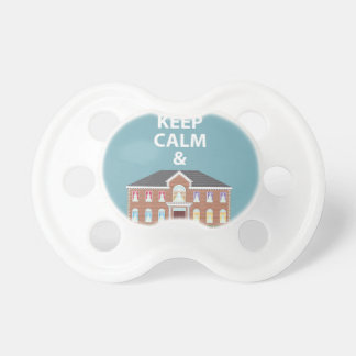 Keep Calm and You are Welcome vector Pacifiers