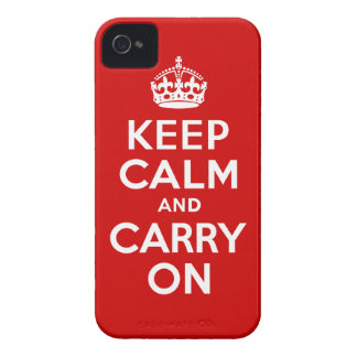Keep Calm Barely There iPhone 4 Case-Mate iPhone 4 Cases