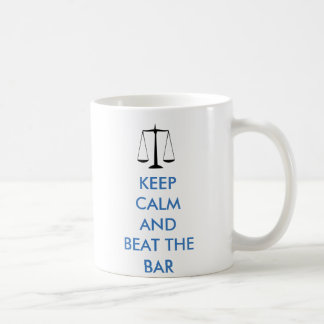 Keep Calm - Beat the Bar Coffee Mug