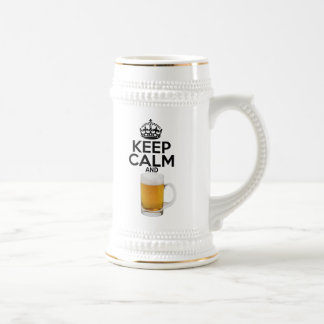 Keep Calm Beer Mug