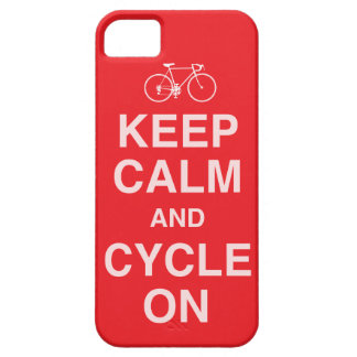 Keep calm  Bicycle iPhone 5 Case
