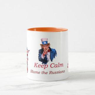 Keep  Calm Blame the Russians Mug