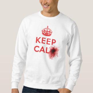 Keep Calm (Blood Splatter) - Sweatshirt