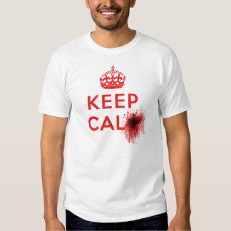 Keep Calm (Blood Splatter) - T-Shirt