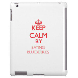 Keep calm by eating Blueberries