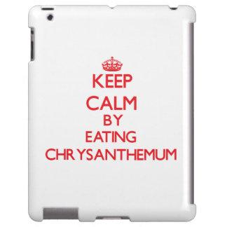 Keep calm by eating Chrysanthemum