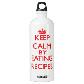Keep calm by eating Recipes SIGG Traveler 1.0L Water Bottle