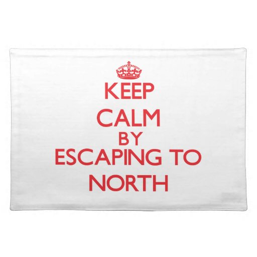 Keep calm by escaping to North New Jersey Placemats