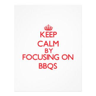 Keep Calm by focusing on Bbqs Flyers