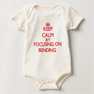 Keep Calm by focusing on Bending Rompers