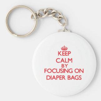 Keep Calm by focusing on Diaper Bags Key Chains