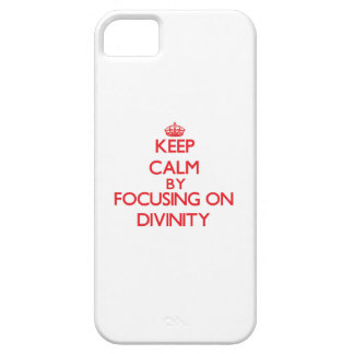 Keep Calm by focusing on Divinity iPhone 5 Covers