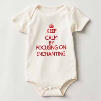 Keep Calm by focusing on ENCHANTING Baby Bodysuit