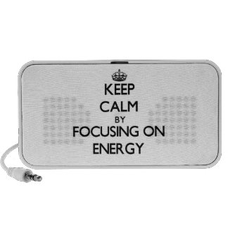 Keep Calm by focusing on ENERGY Speaker System