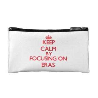 Keep Calm by focusing on ERAS Cosmetics Bags